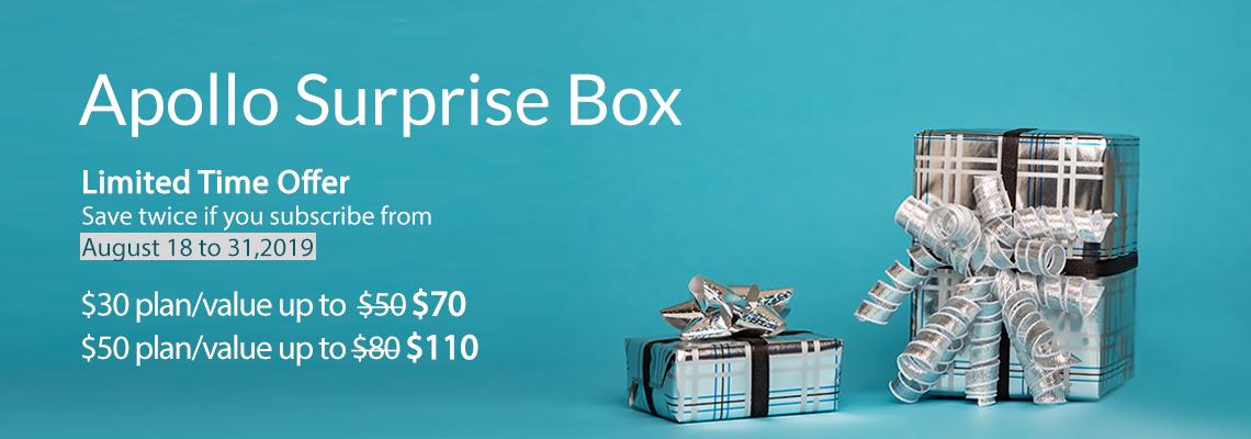 Surprise Box Promo