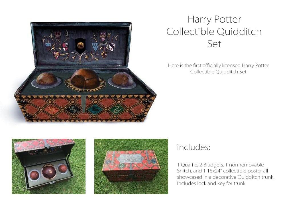 Harry Potter Official Quidditch Set Apollobox