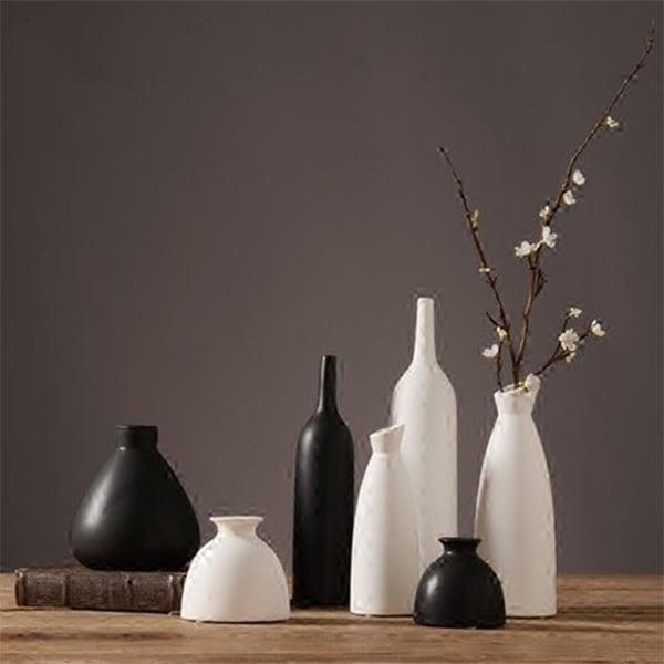 Japanese Zen Ceramic Vase from Apollo Box