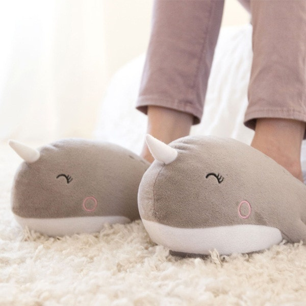 f927400c6e6 ... product thumbnail image for Narwhal USB Heated Slippers ...