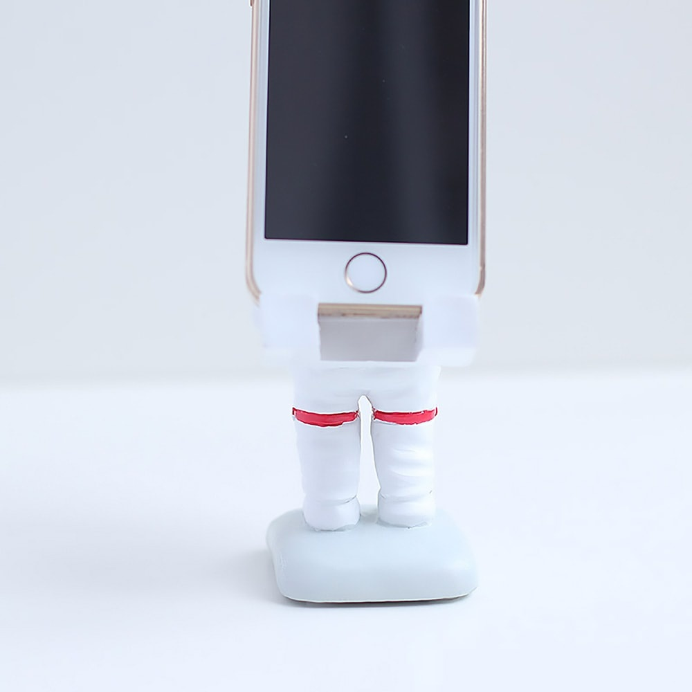 Mr Astronaut Phone Stand Just finished the moon landing!
