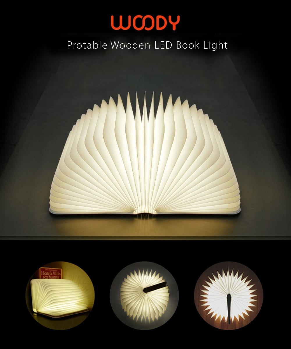 Woody Book Lamp Apollobox