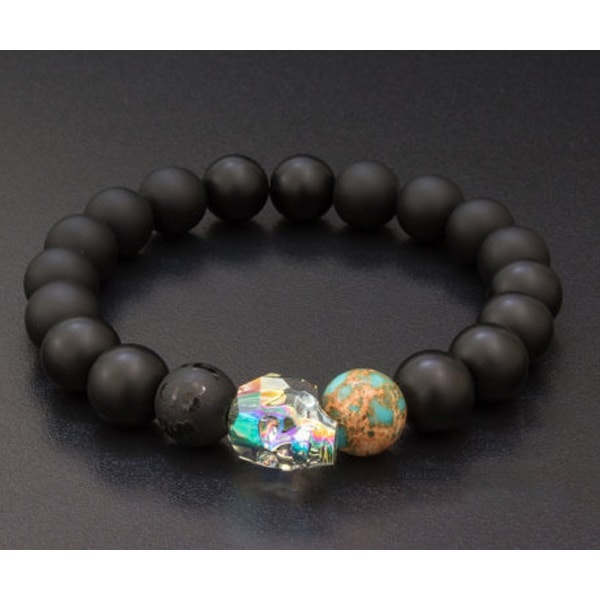 skull bracelet swarovski