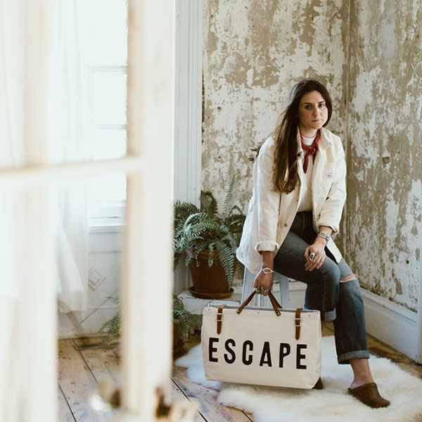 The Forestbound ESCAPE Canvas Utility Bag travel product recommended by Jannelle Garcia on Lifney.