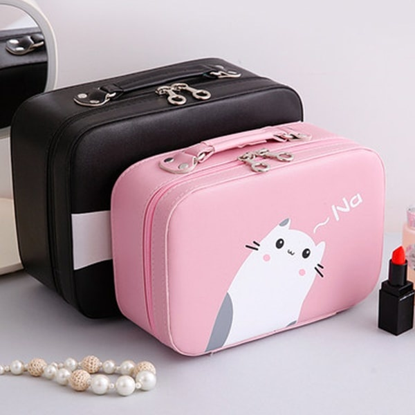 The Kitten Cosmetic Bag travel product recommended by Jannelle Garcia on Lifney.