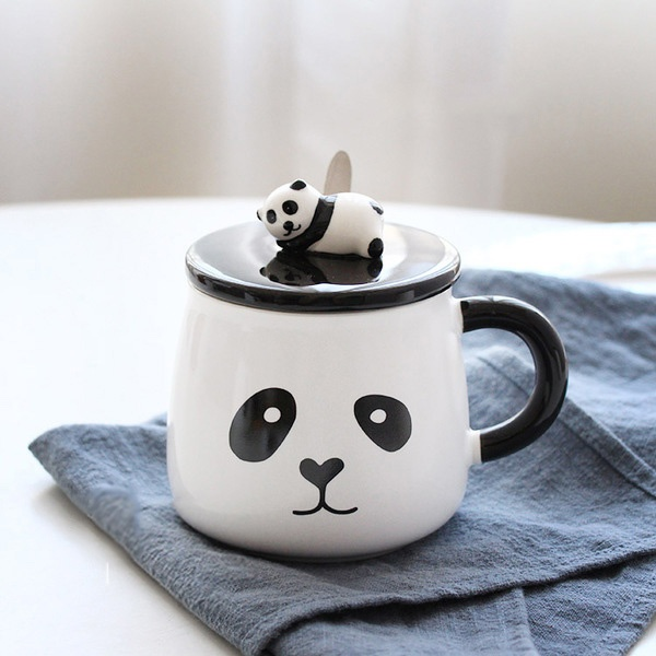 Lazy Panda Ceramic Cup Apollobox
