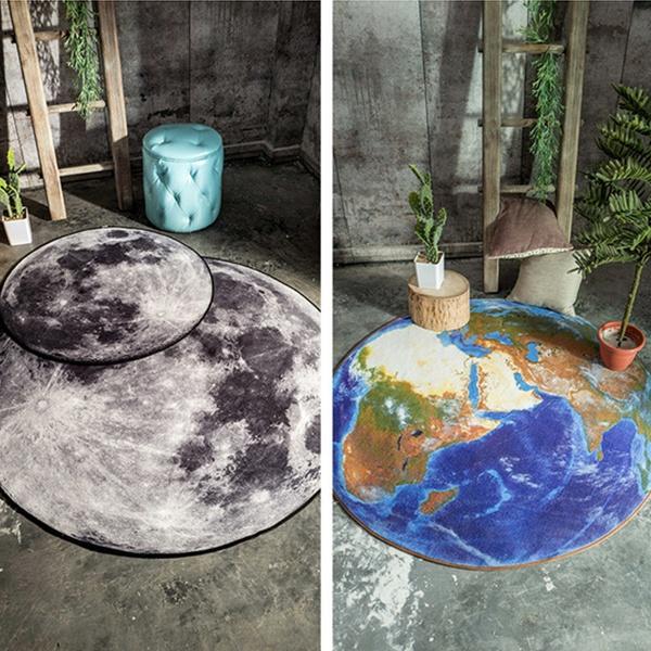 3d Moon Or Earth Area Rug Apollobox