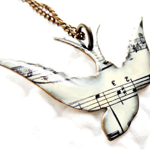 INOpets.com Anything for Pets Parents & Their Pets Song Bird Necklace