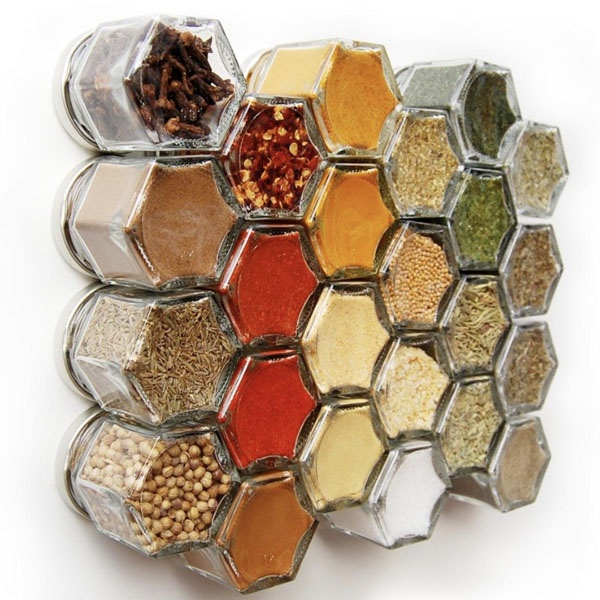 DIY Small Magnetic Spice Jar Set
