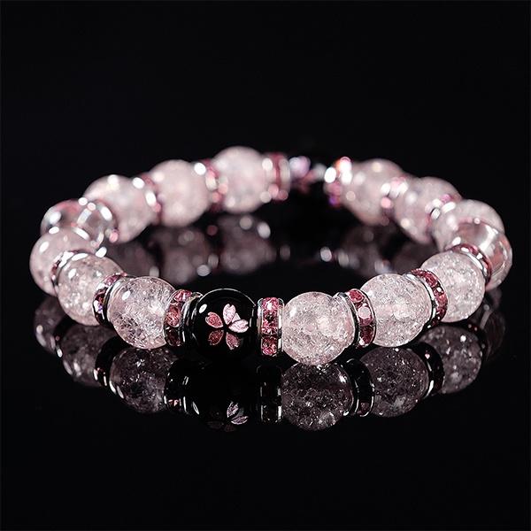 Sakura Beaded Bracelet