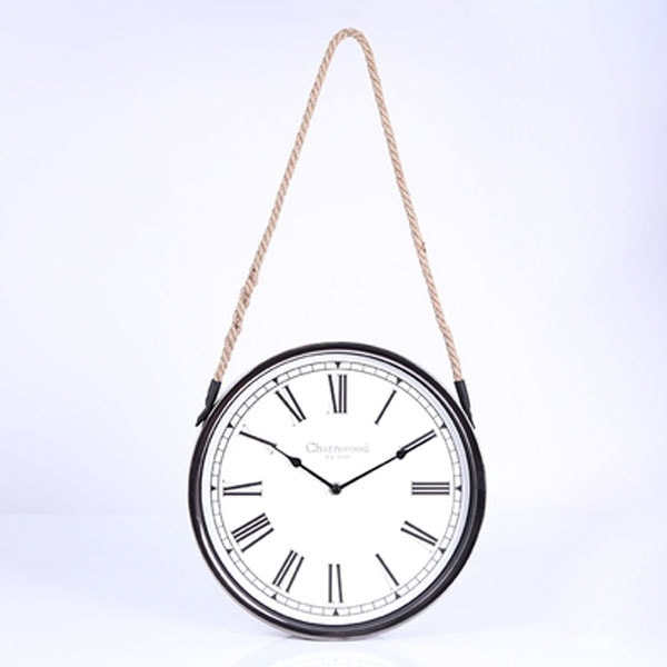 Rope Hanging Wall Clock Apollobox