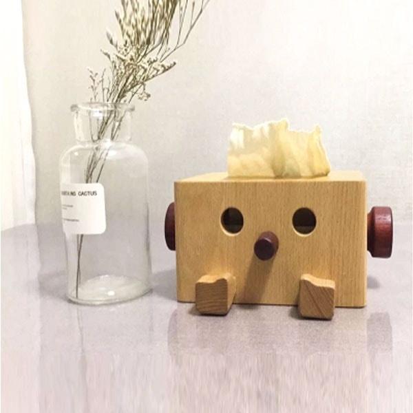 Wood Tissue Box From Apollo