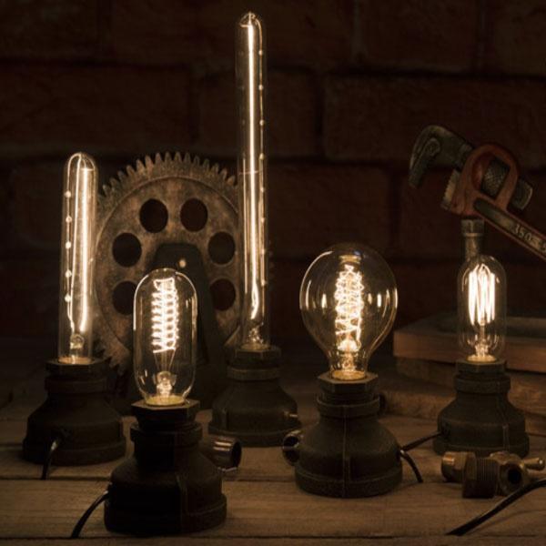 Cast Iron Edison Lamp