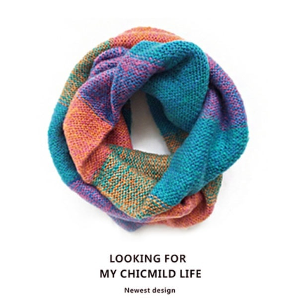 5cea3693dacd ... product thumbnail image for Multicolored Knit Scarf ...