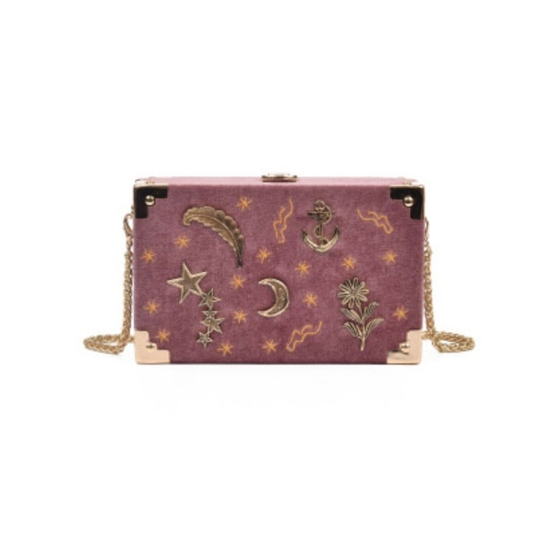Velvet Moon Trunk Bag