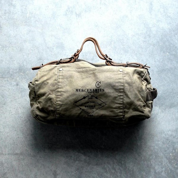 ... product thumbnail image for Military Style Duffle Bag ... 3560297236030