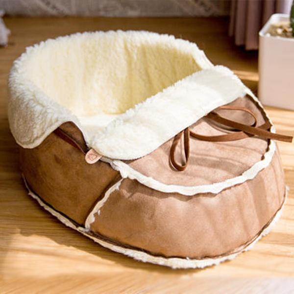 Moccasin Pet Bed Apollobox