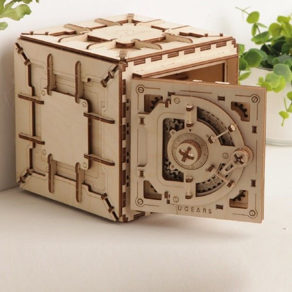 Mechanical 3d Safe Puzzle From Apollo Box