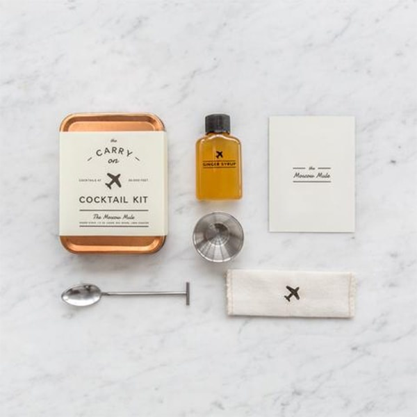 The Carry On Cocktail Kit - The Moscow travel product recommended by Jannelle Garcia on Lifney.