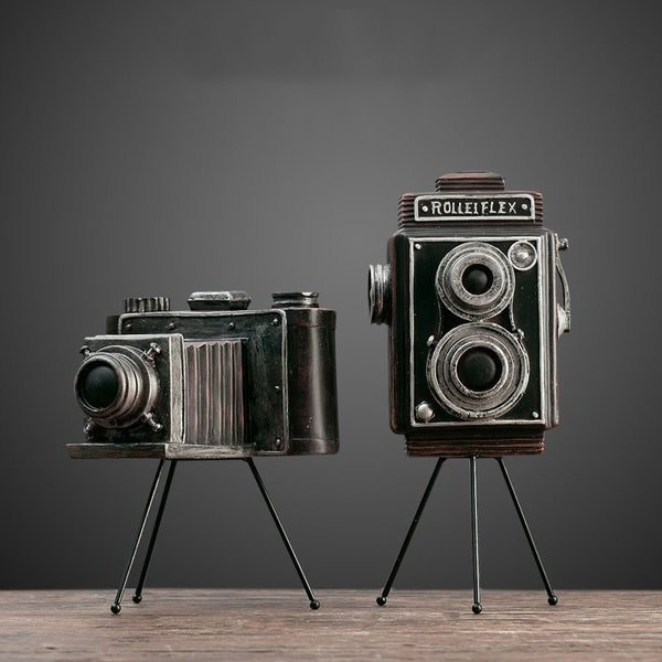 INOpets.com Anything for Pets Parents & Their Pets Vintage Tabletop Camera Decor