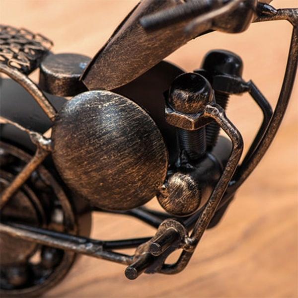 Motorcycle Desktop Clock