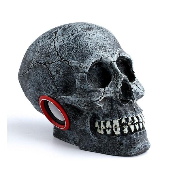 Skull Shaped Portable Speaker from Apollo Box