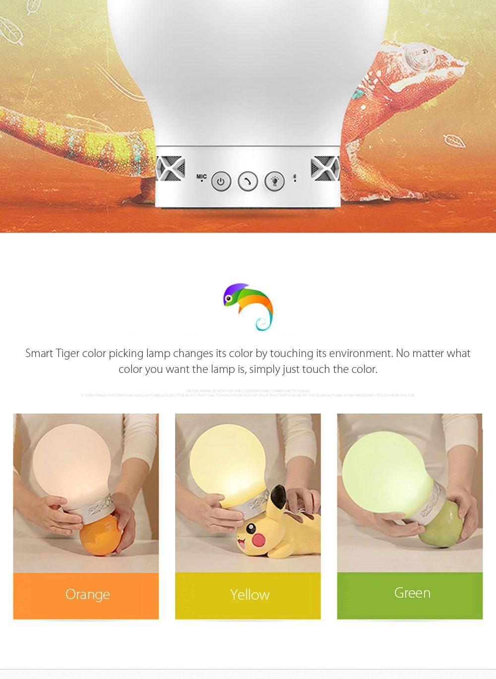 Smart Tiger Color Picking Music Lamp Apollobox